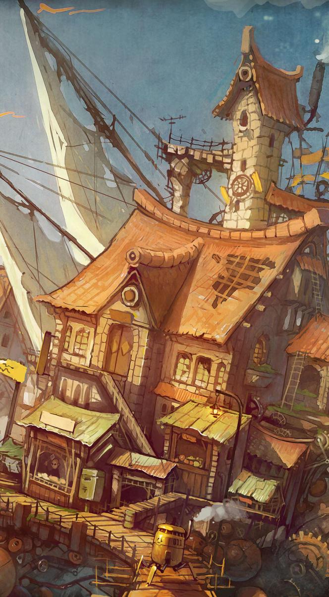 Slums by aiyayo