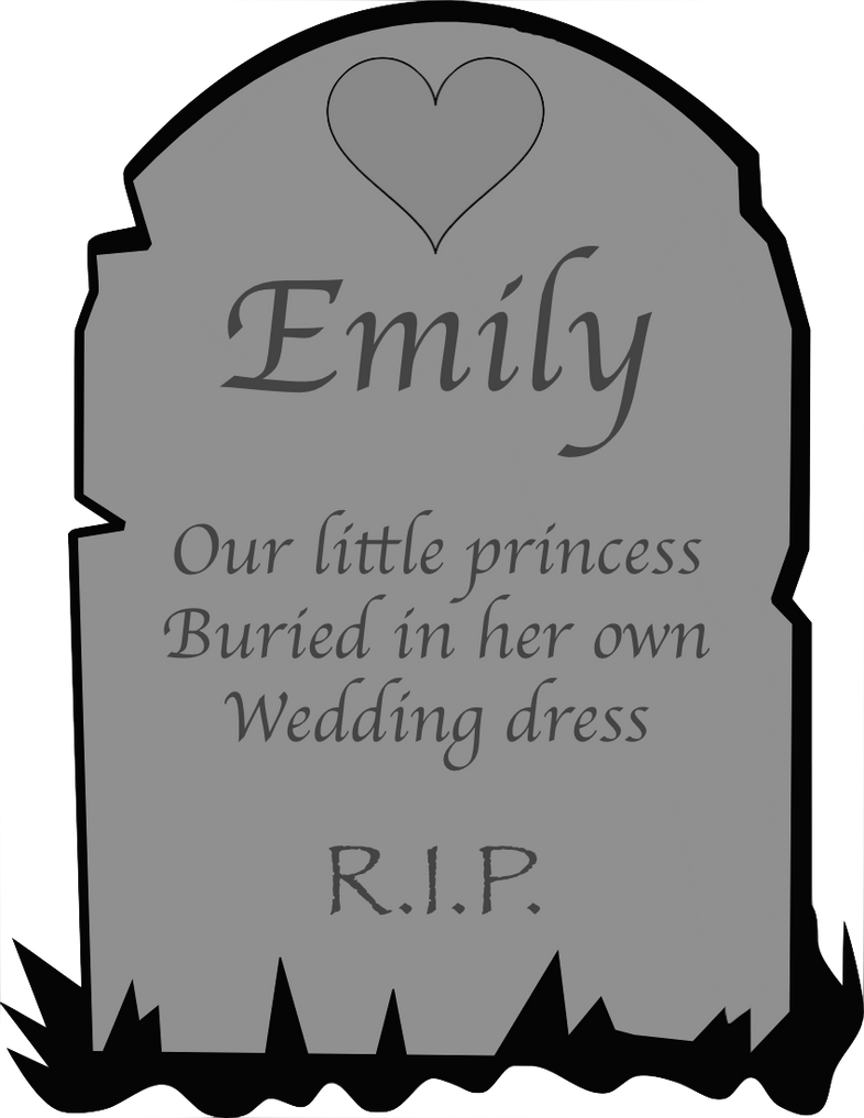 Haunted mansion emilys tombstone by scroogemacduck on deviantart haunted mansion emilys tombstone by scroogemacduck voltagebd Choice Image