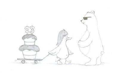 duck n bear sketch