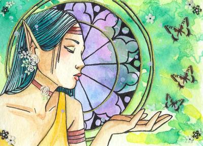 calling butterflies by 2346119