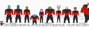 DBR Team Universe 11 (U11) by The-Devils-Corpse