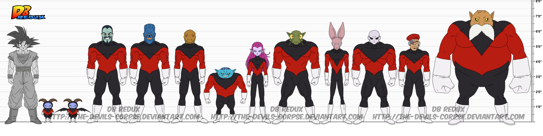 DBR Team Universe 11 (U11) by The-Devils-Corpse