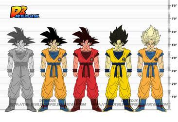 DBR Son Goku v4 by The-Devils-Corpse