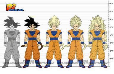 DBR Son Goku v6 by The-Devils-Corpse