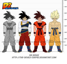 DBR Son Goku v11 by The-Devils-Corpse