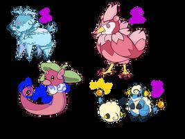 [1/3 OPEN] Pokemon Fusion Auction!