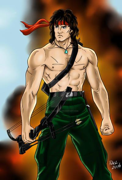 Rambo by Rael-Mochizuki