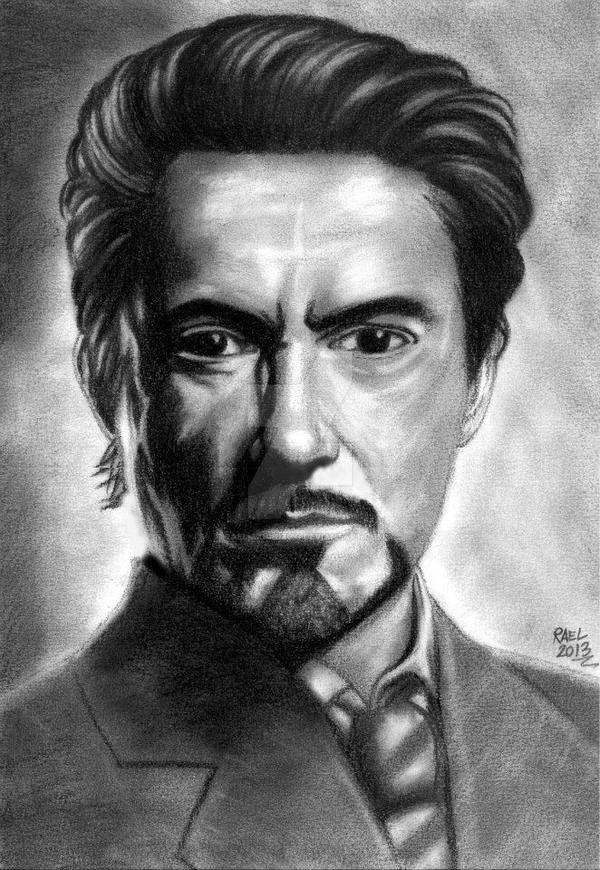 Tony Stark by Rael-Mochizuki