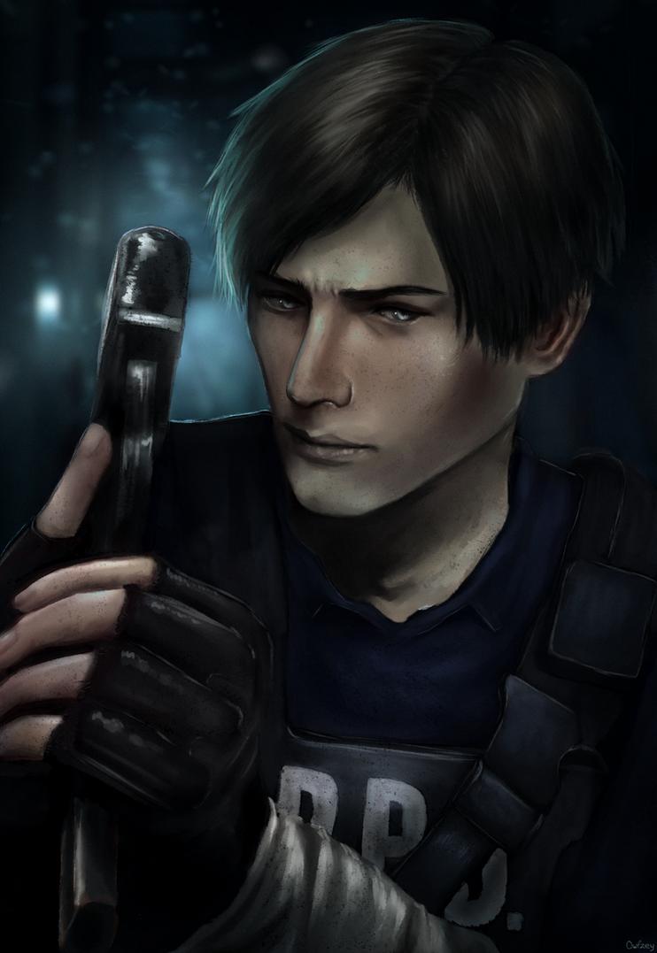 Leon S. Kennedy - Resident Evil 2 by Owlzey