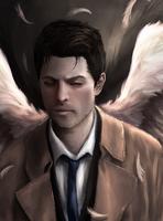 Castiel - Supernatural by Owlzey