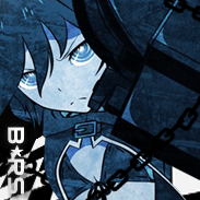 Black rock shooter Icon by rin-r0