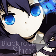 Black rock shooter icon 2 by rin-r0