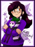Birthday Gift: Lily and Terry by aronora