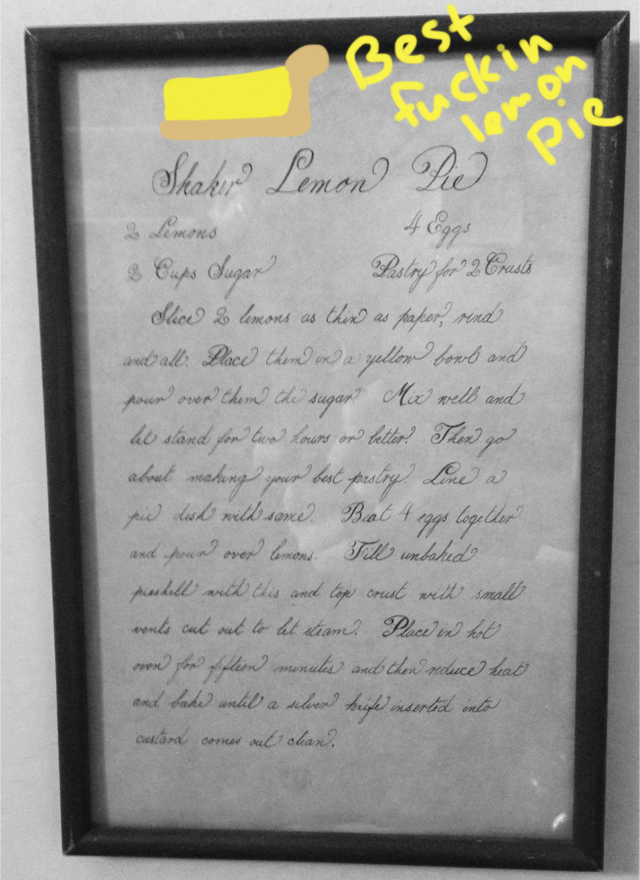 Shaker Lemon Pie Recipe by RandomGypsyCat