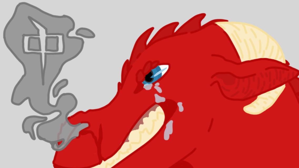 Red Dragon by RandomGypsyCat