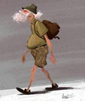 Hiking Hermit by PiratoLoco