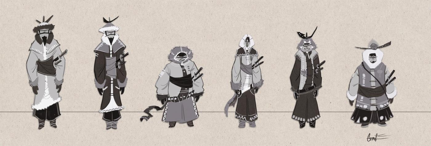 Eskimo Samurai by PiratoLoco