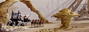 Desert Fortress by PiratoLoco