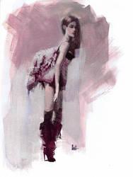 Wind Down Watercolor by PiratoLoco