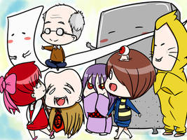 GeGeGe no Kitaro//RIP Shigeru Mizuki-San.