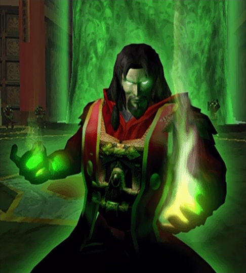 Mortal Kombat DA: Shang Tsung Krypt Art by CrucialSuicide on