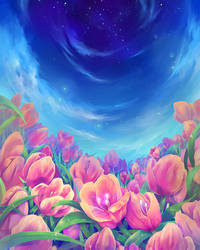 Tulips in Heaven by Eluva