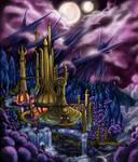 Castle BrightMoon by FlyToFerio