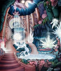 Crystal Falls by FlyToFerio