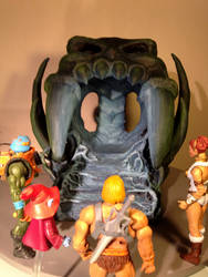 Grayskull throne room by FlyToFerio