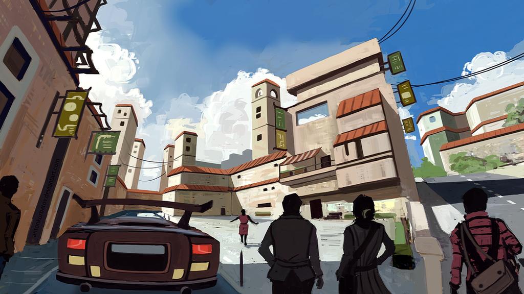 Postal Square by AntonKurbatov