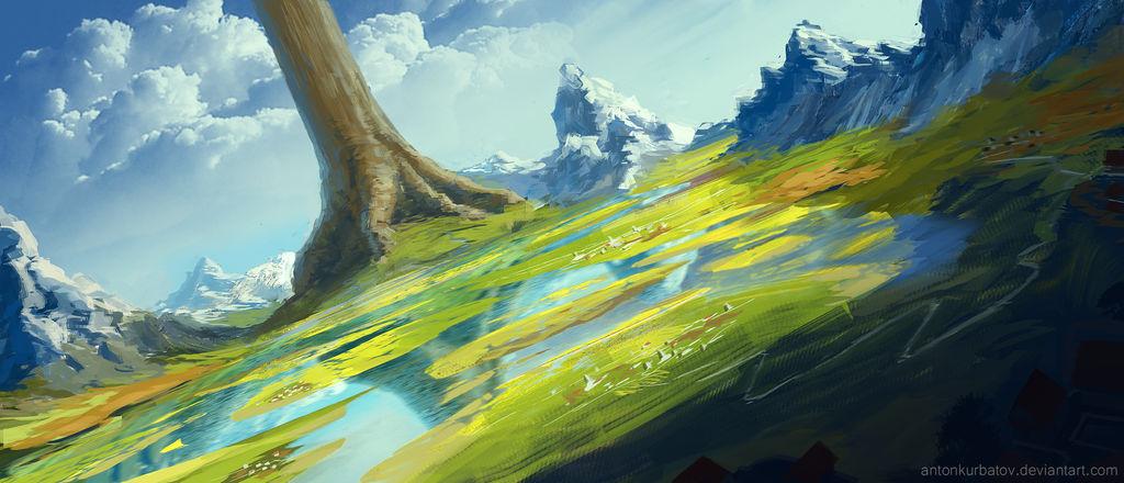 CrobaWolf's Tree of the world