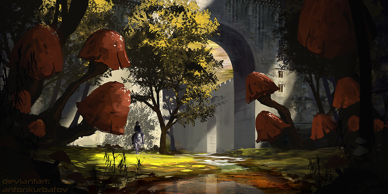 The Old Funginarium by AntonKurbatov
