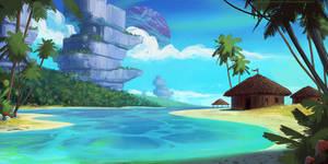 Saimoa Resort - Tropical Moon by AntonKurbatov