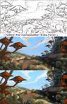 Tossa de Mushroom - Step-by-Step process