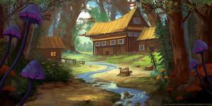 Vaelidian Forest Village