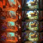 Devil's Lair  and Vaelidian Village Step-by-Steps