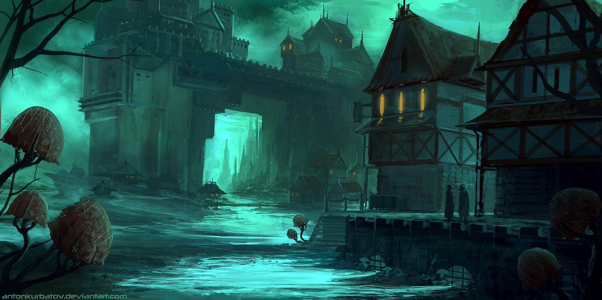 Dark Coast by AntonKurbatov