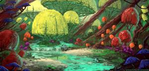 Anya's Garden (+ video process)