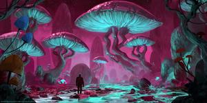 Lost Outside by AntonKurbatov