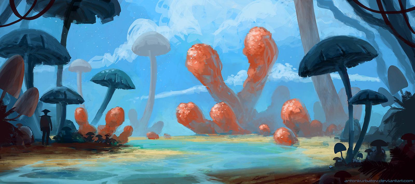 Reef of Rapture by AntonKurbatov