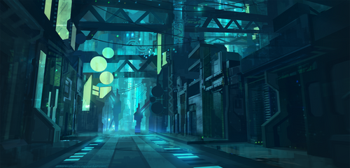Offline Street by AntonKurbatov
