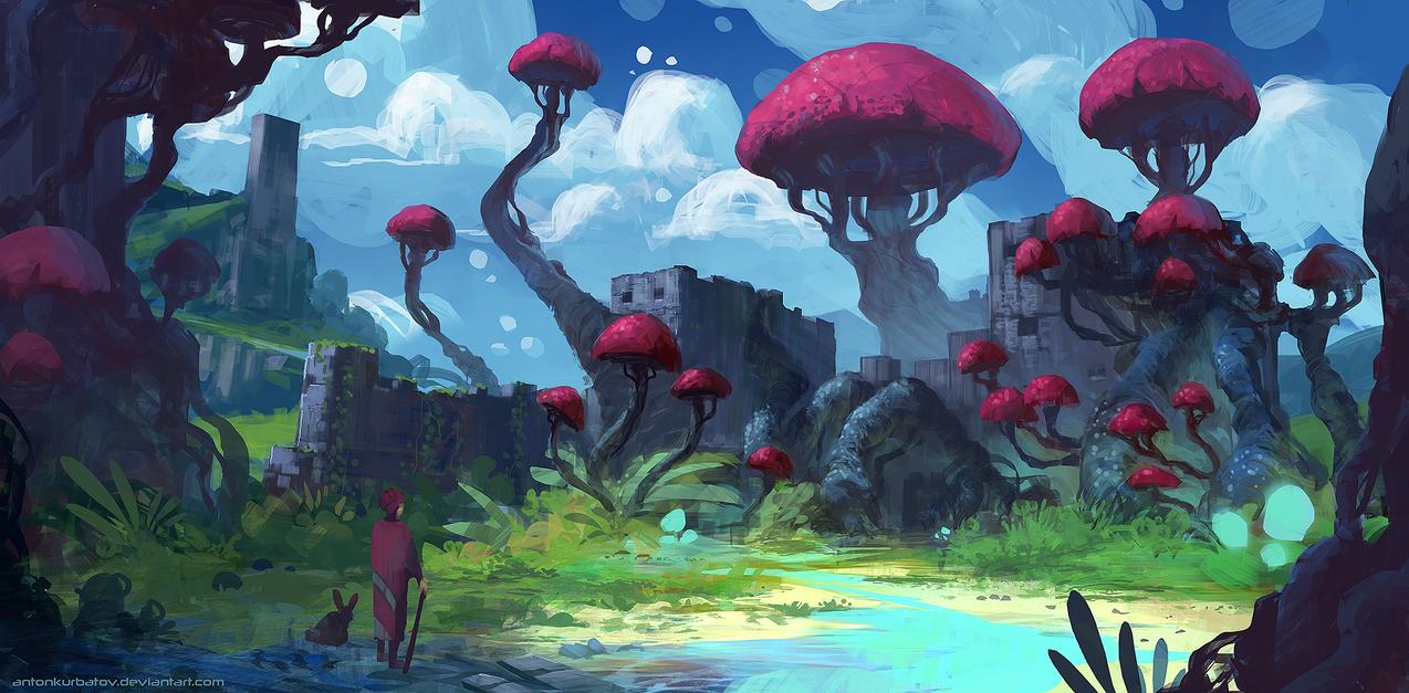 Fort Fungus by AntonKurbatov