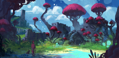 Fort Fungus by AntonKurbatov