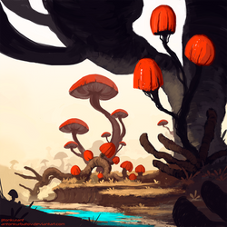 Red Shrooms