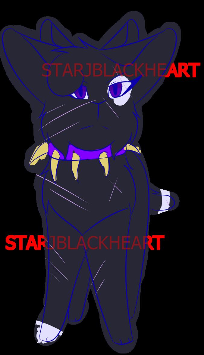 Kitty sketch by StarJBlackheart
