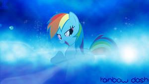 Wallpaper Rainbow Dash