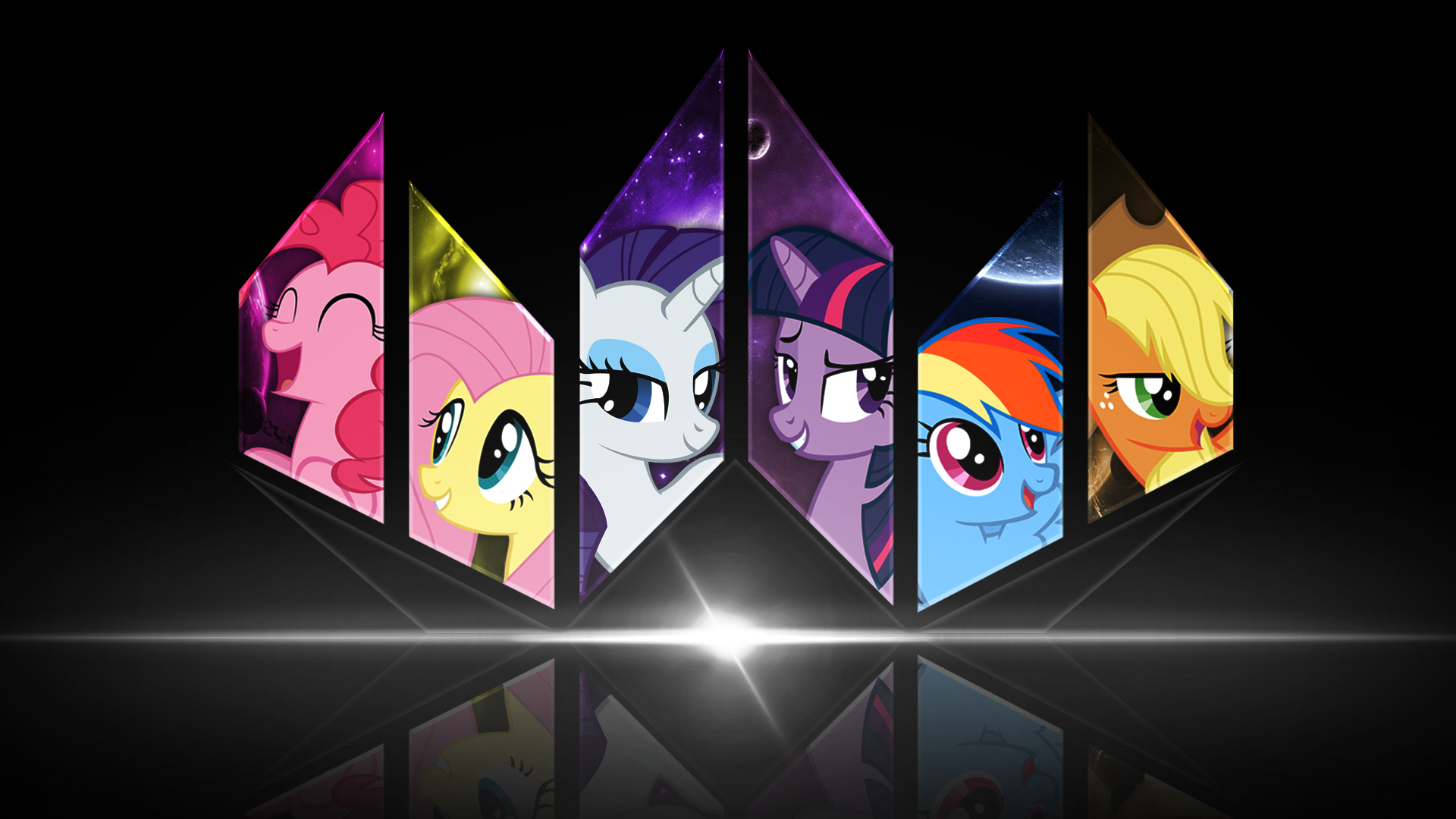 android mane 6 wallpaper - photo #23