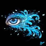 Blue eye (digital)