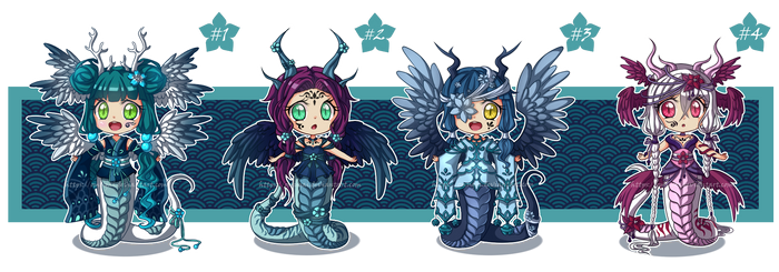 Adoptables 13 - Winged Lamia [CLOSED]
