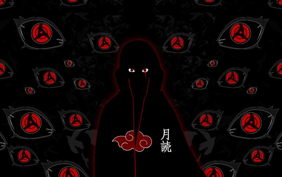 Itachi Uchiha Tsukuyomi Tsukuyomi-Moon-God by ...